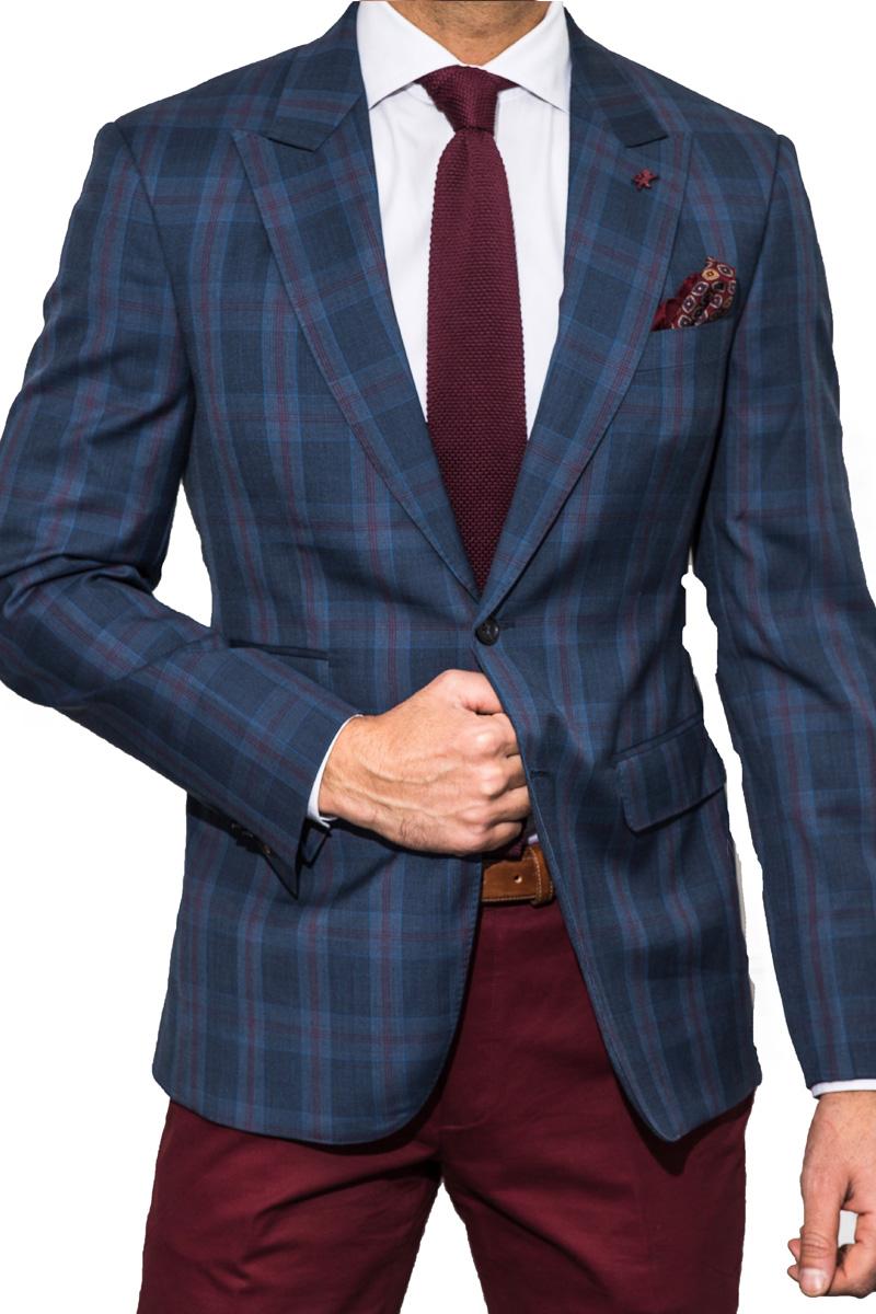 dark-blue-check-blazer