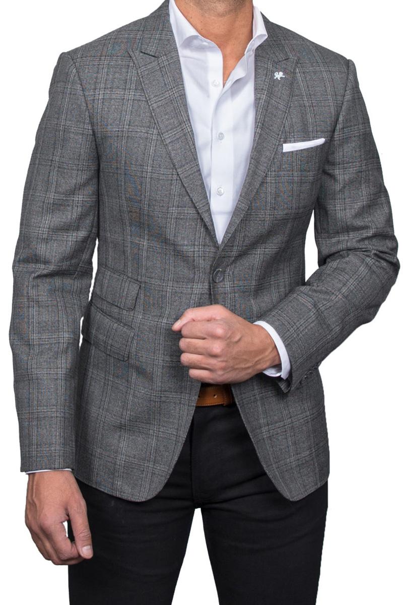 grey-check-blazer